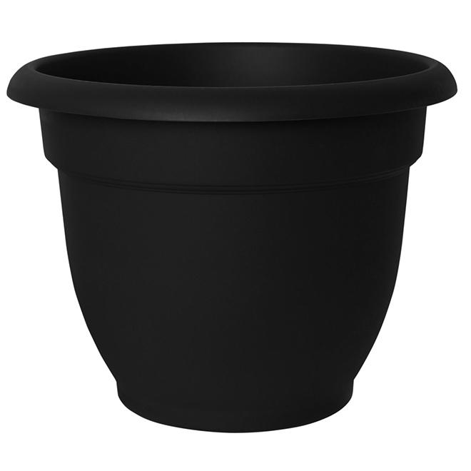 Ariana Planter - Resin - 12'' - Black