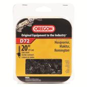 D72 Replacement Chain Saw Chain - 20-in