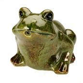 Frog Water Spitter - Ceramic - Green