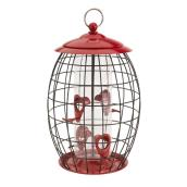 Stokes Sweet Tweet Café Bird Feeder - 7.75-in - Metal - Red