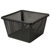 "Aquatic Plant Basket - 10"" x 6"" - Plastic - Black"