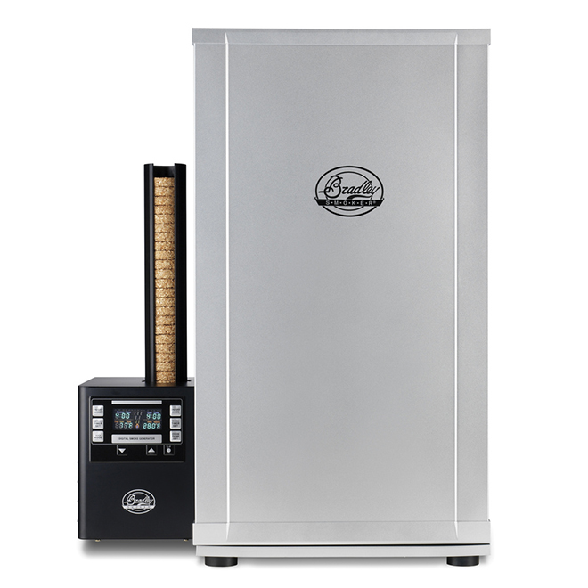 Professional 4-Rack Digital Smoker - 500/125 W - 2,288 sq. in. - Stainless Steel