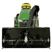 "2 Stage Snowblower with Electric Lift - 44"" - Black"