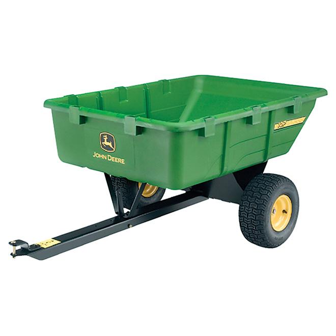 John Deere Tow-Behind Utility Cart - 650 lb - 10 cu.ft