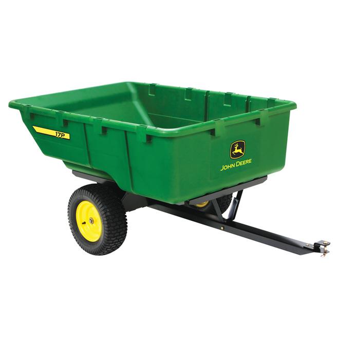 Chariot pour tracteur de jardin John Deere, 17pi³, 1000lb