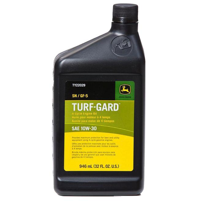 John Deere Turf-Gard SAE 10W-30 4-Cycle Motor Oil - 946ml
