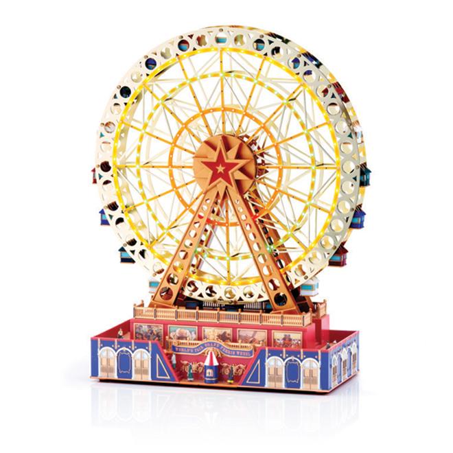 "Decorative Grand Ferris Wheel - 31 x 12.5 x 38.5"""