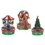 "Carnival Mini Music Box - 4.5"" - Assorted"