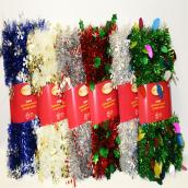 Garlands - 12' - Assorted Shapes and Colors