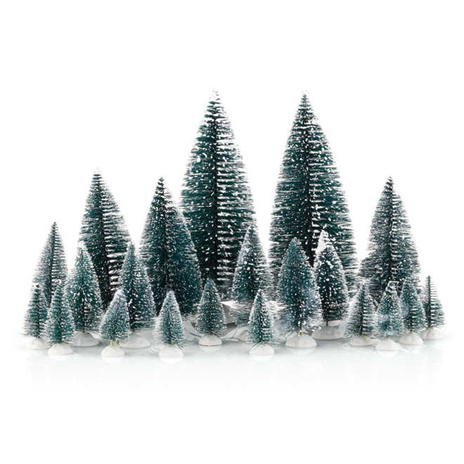 Christmas Pine Tree Set - 21 Assorted Pieces