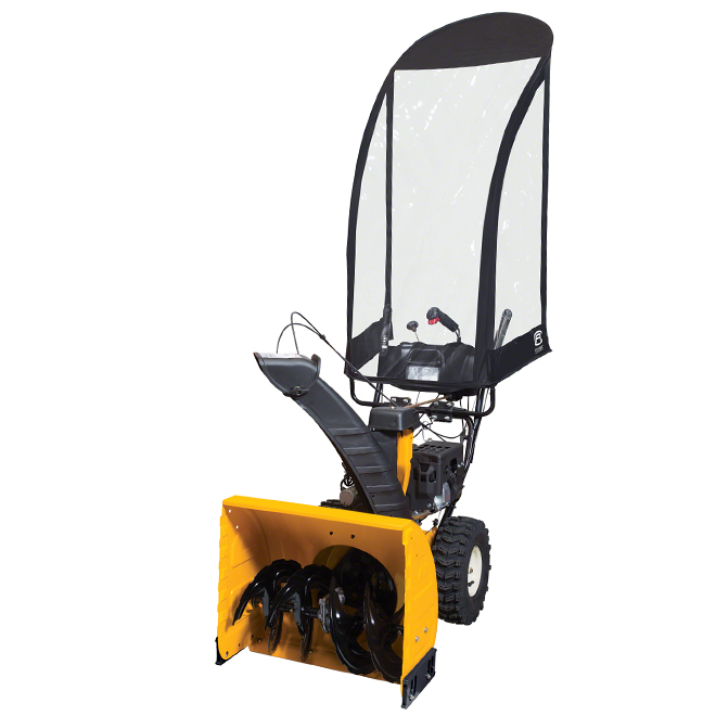 2-Stage Snow Thrower Cab - 73'' x 27,33''