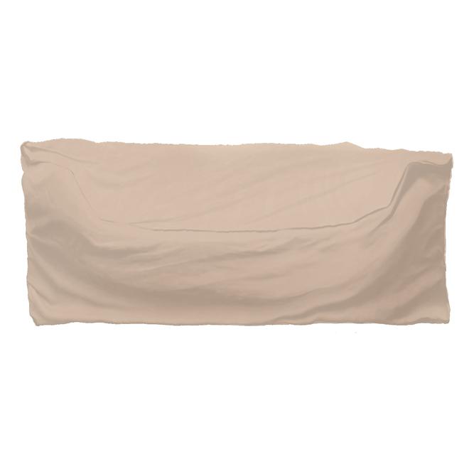 """Housse pour sofa de patio, 86"""" x 35 1/2"""" x 39"""", beige"""