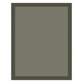 Outdoor/Indoor Area - 8' x 10' - Grey Patterned