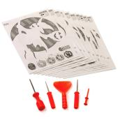 Pumpkin Carving Kit - 6 Pieces