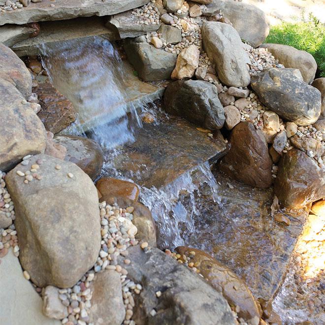 Pompe de cascade, 18', 5100 GPH