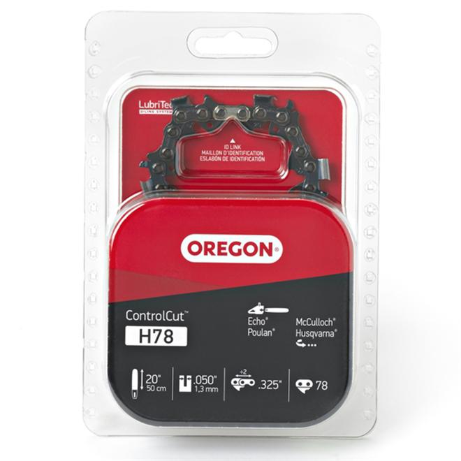 Oregon ControlCut H78 Chain Saw Chain - 20-in