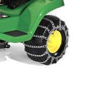 John Deere Tractor Tire Chains - Steel 22-in x 9.5-in x 12-in - Pack of 2
