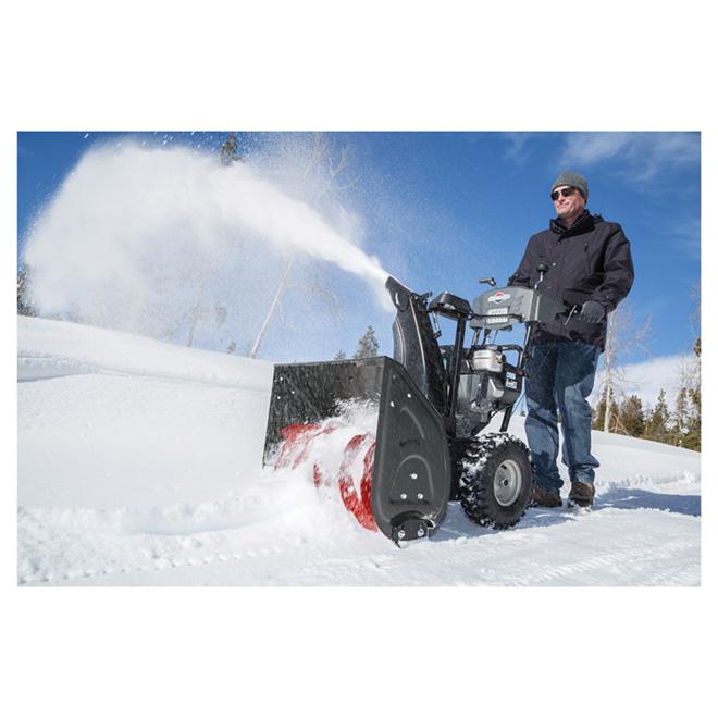 "Dual Stage Snowblower - Steel - 27"" - 250 cc - Noble Grey"