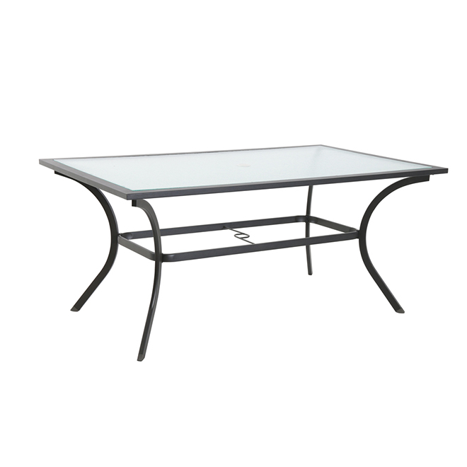 Style Selections Vinehaven Dining Table -  66 x 38-in - Brown