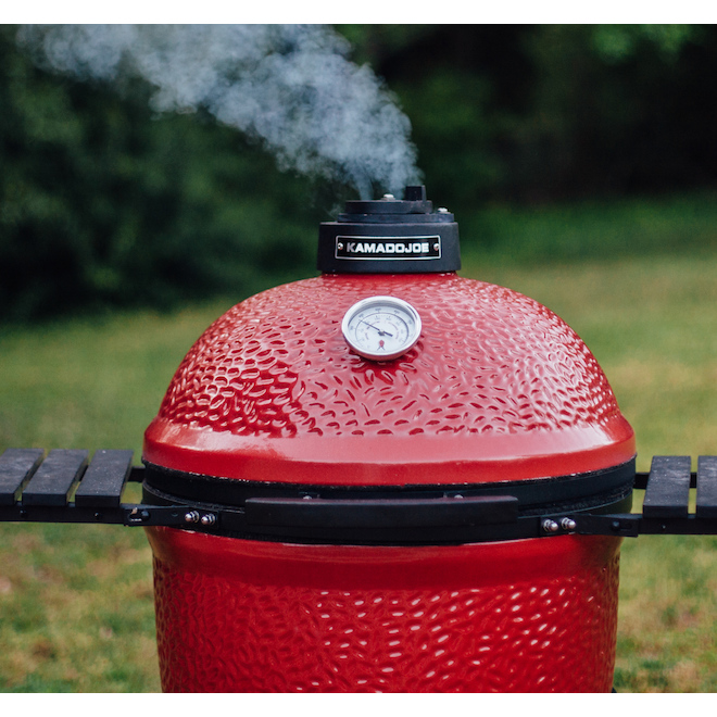 Classic Charcoal BBQ - 256 sq. in. - 18 in - Red