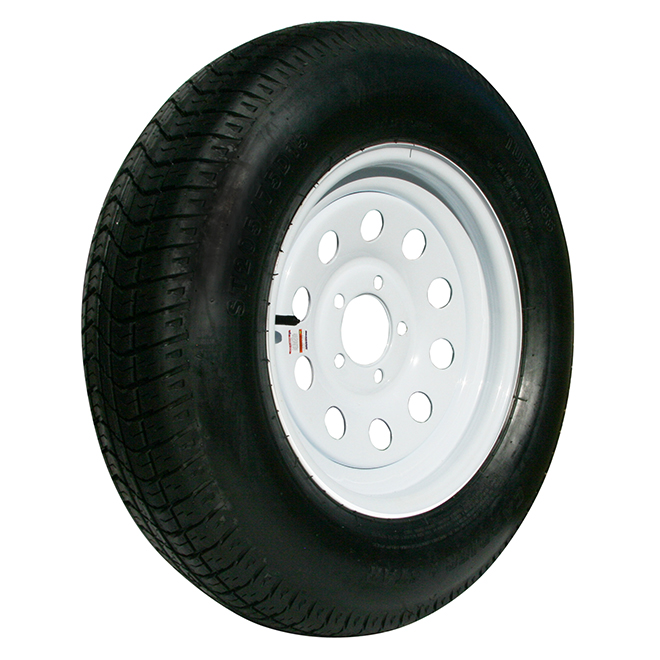 """Replacement Tire - Steel - 15"""" - Black"""