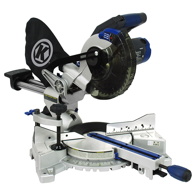 Kobalt 10 inch sliding miter saw laser adjustment