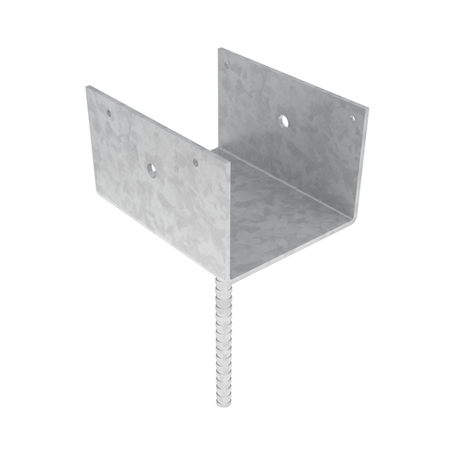 """Elevated Post Base - Steel - 4"""" X 6"""""""