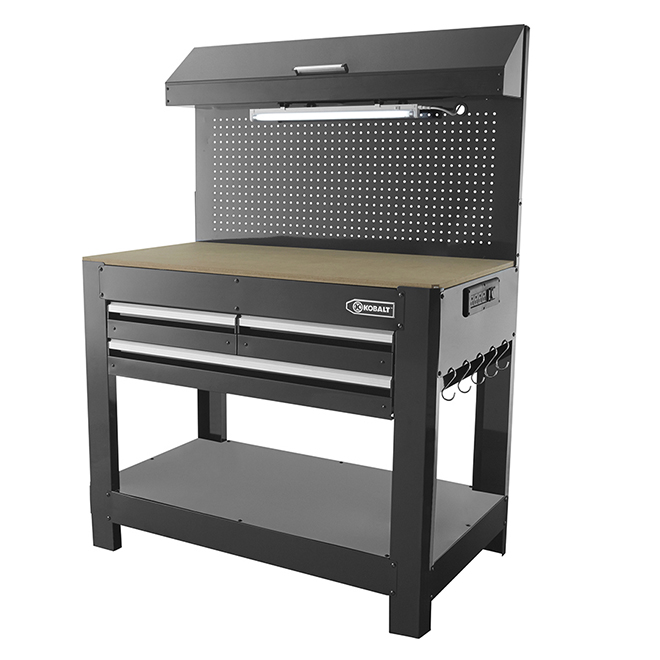 Excellent Heavy Duty Steel 3 Drawer Workbench 45 X 63 Black Andrewgaddart Wooden Chair Designs For Living Room Andrewgaddartcom