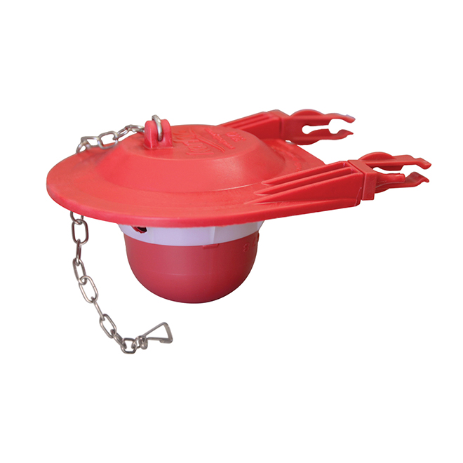 "Large Tank Flapper - 3"" - Red"