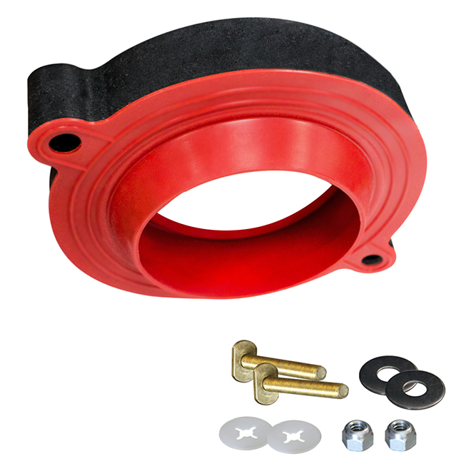 Toilet Seal and bolts - Red