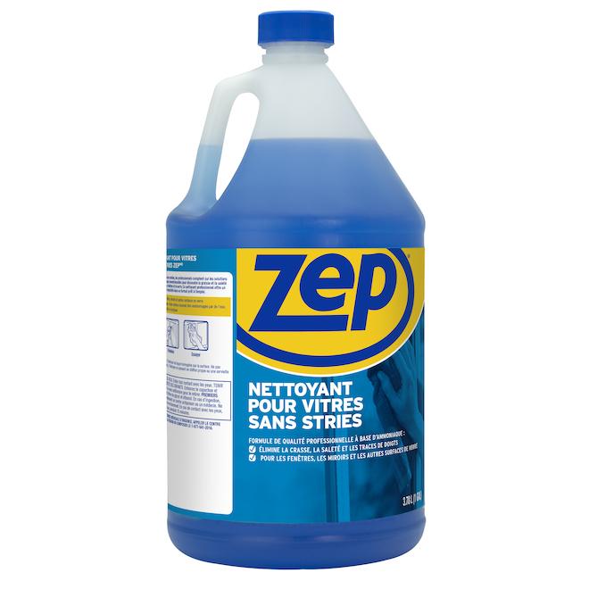 Nettoyant à vitre sans stries ZEP, 3,78 l
