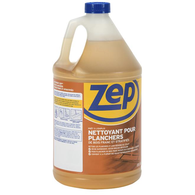 Nettoyant pour plancher de bois dur, Zep, 3,78 l