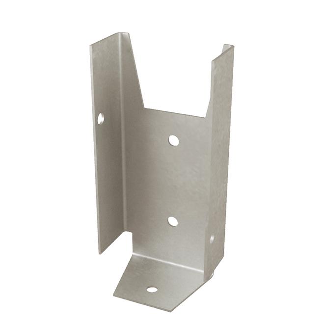 """Fence Bracket - 20-Gauge Steel - 2"""" X 4"""""""