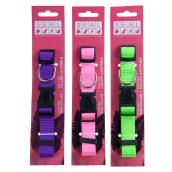 Adjustable Dog Collar - Medium - Assorted