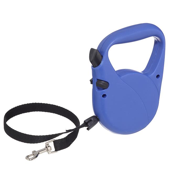 Retractable Dog leash - 16.4' - Blue