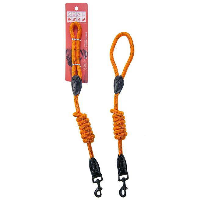Dog Leash - Large - 47'' - Orange
