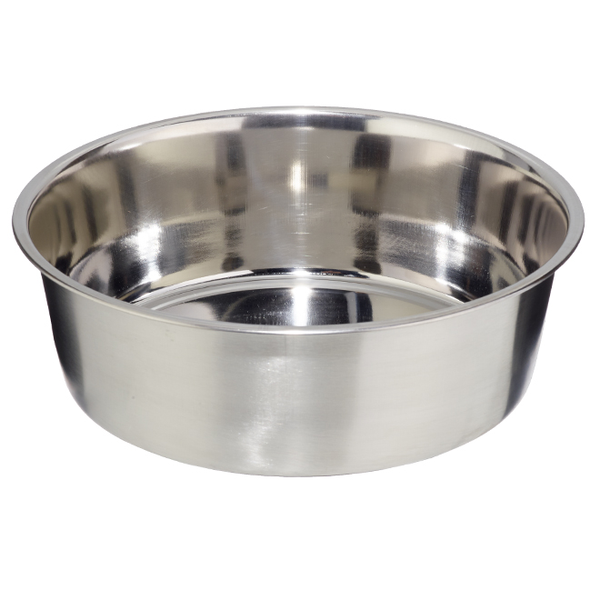 Dog Bowl - Large - Stainless Steel