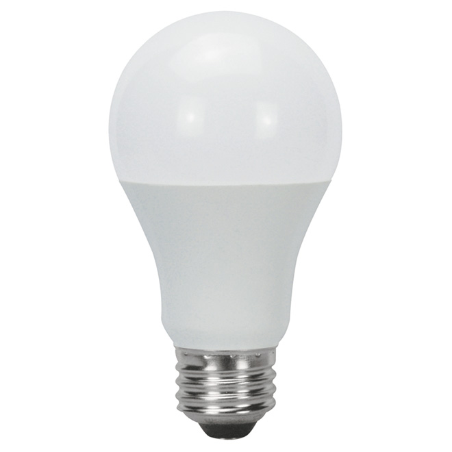 LED Bulb A19 9W - Non-Dimmable - Day Light - 6-Pack