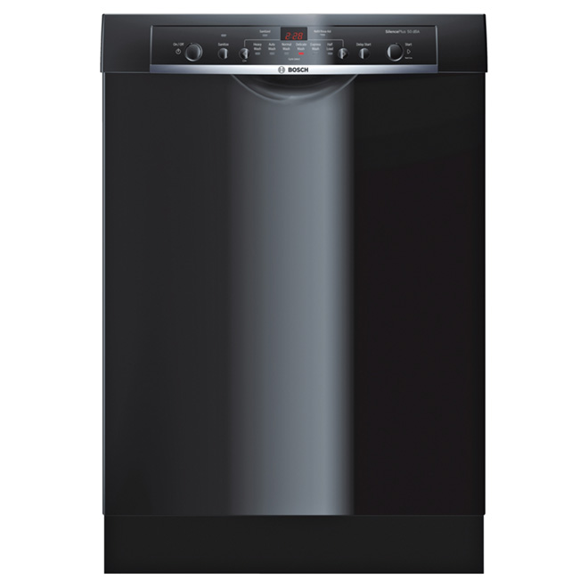 "24"" Ascenta Dishwasher with Recessed Handle - Black"