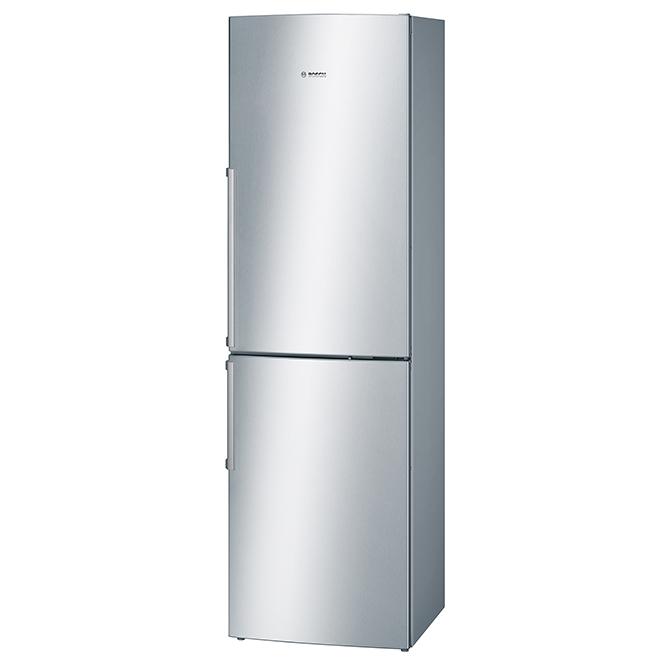 Réfrigérateur avec congélateur au bas, 11 pi³, acier inoxydable