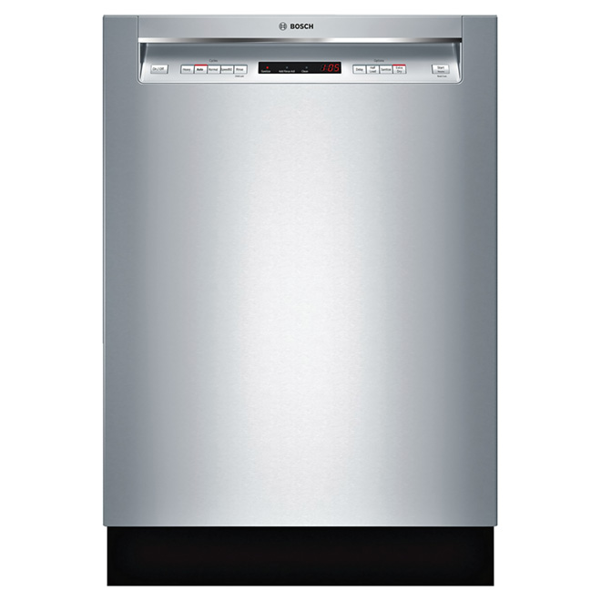 """Dishwasher with Recessed Handle - 24"""" - Stainless Steel"""