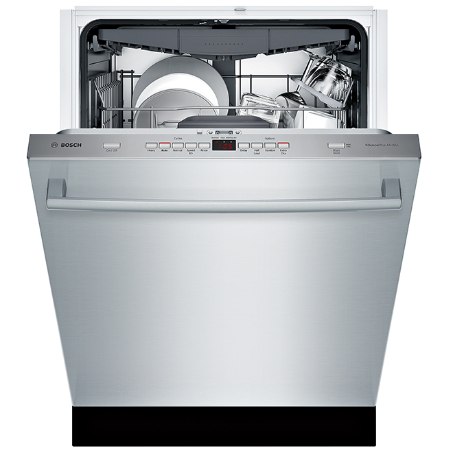 "Bosch Built-In Dishwasher - 3 Racks - 24"" - Stainless Steel"