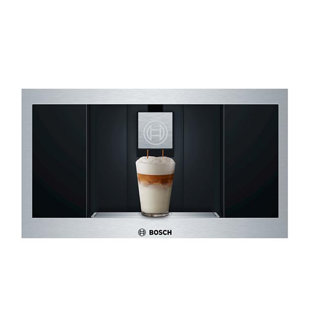 Cafetière encastrée Bosch Série 800, acier inoxydable