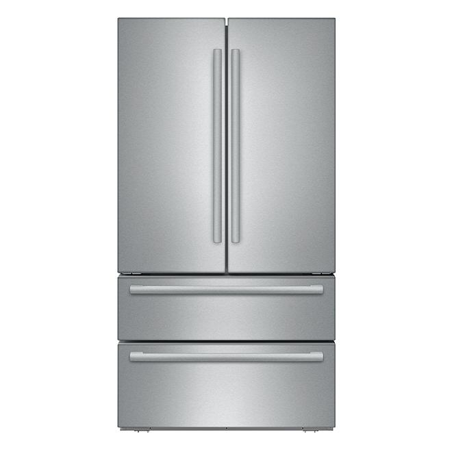 French Door Refrigerator - Stainless Steel - 20.8 cu. ft.