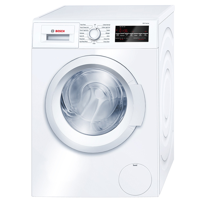 Front-Load Compact Washer - 2.2 cu. ft - White