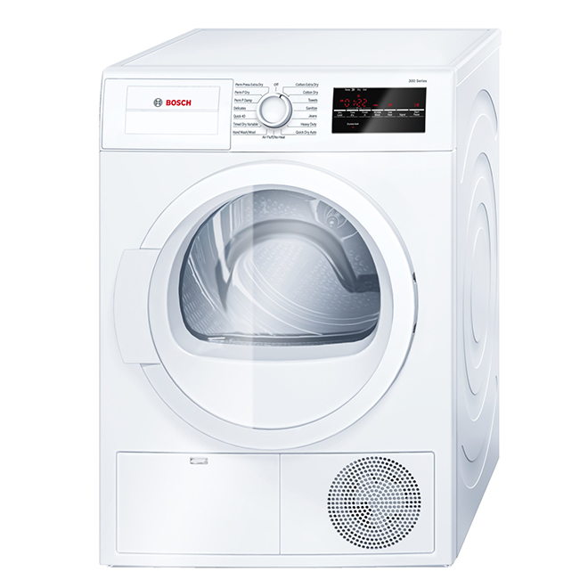 Electric Compact Condensation Dryer - 4.0 cu. ft. - White