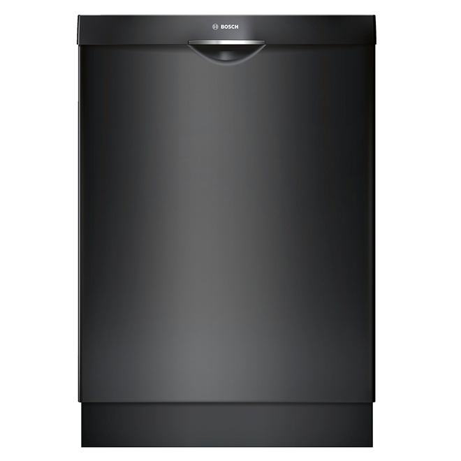 """Built-In Dishwasher with Scoop Handle - 24"""" - Black"""