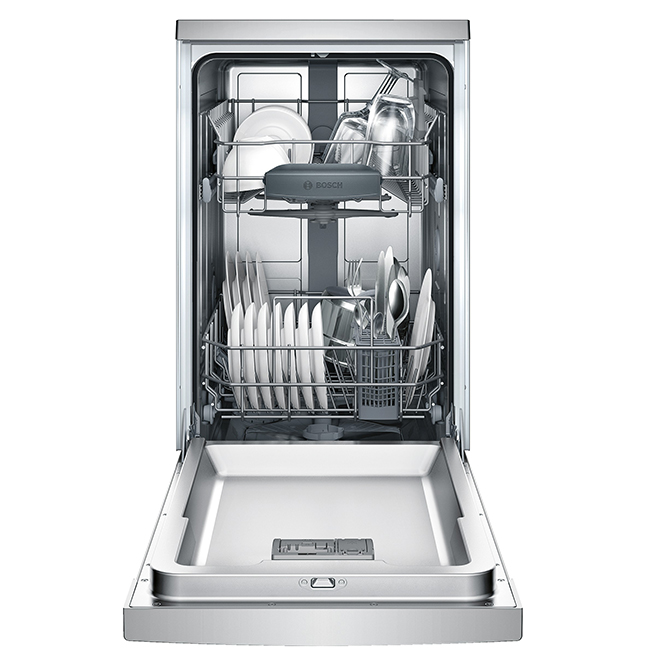 "Slide-In Dishwasher with ActiveTab (TM) - 18"" - Stainless Steel"
