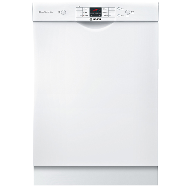 "Built-in Dishwasher - 100 Series - 24"" - 50 dB - White"