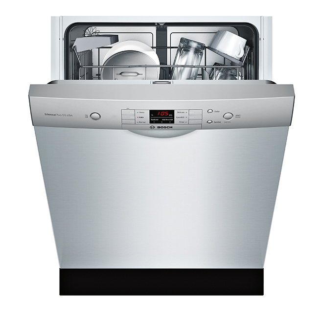 "Dishwasher with EcoSense(TM) - 100 Series - 24"" - SS"